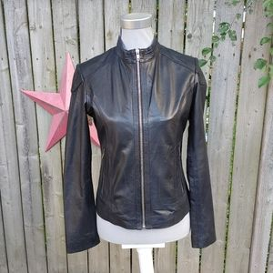 Ted Baker leather jacket size small/med